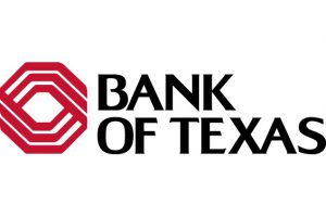 Logo for Bank of Texas